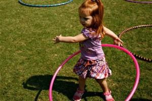 игры с обручем для детей